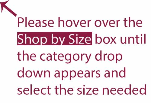 Shop by size